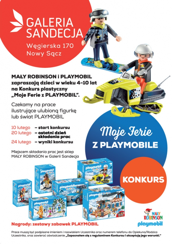 Konkurs Playmobil